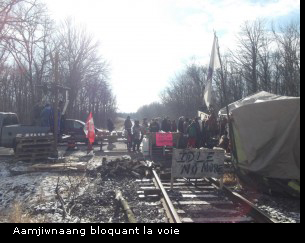Aamjiwnaang-blockade